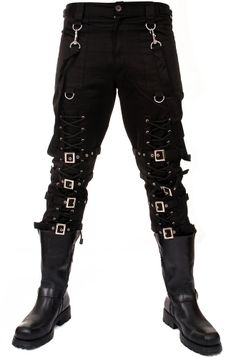 Dead Threads - Lace-Up Bondage Pants - Dead Threads