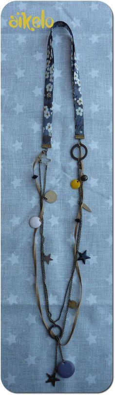 Jewellery storage diy fun 68 Ideas for 2019 Funky Jewelry, Fabric Jewelry, I Love Jewelry, Metal Jewelry, Jewelry Crafts, Jewelry Design, Vintage Jewelry, Diy Jewelry Holder, Diy Jewelry Making