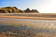 Three Cliffs Bay - Taken in March 2012