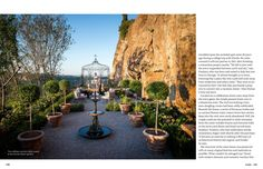 May 2013 - Lonny Magazine - Lonny- formal Italian garden w sweeping views