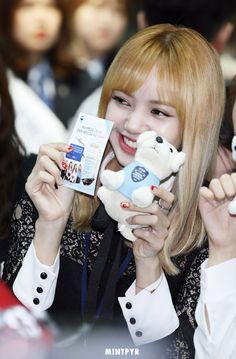 Lisa at Incheon Main Customs Promotion Event