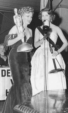 Marilyn at the Henrietta Awards, February 8, 1952.