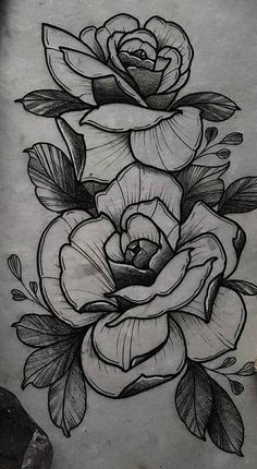 Tattoos are currently observed as an artwork and a type of individual articulation and the floral tattoo is winding up progressively mainstr. Rose Drawing Tattoo, Tatoo Art, Tattoo Sketches, Tattoo Drawings, Floral Tattoo Design, Flower Tattoo Designs, Flower Tattoos, Tattoos Skull, Body Art Tattoos