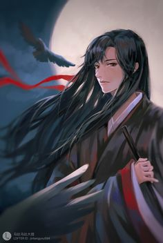 Mo Dao Zu Shi / Grandmaster Of Demonic Cultivation Extra Novel Me Me Me Anime, Anime Guys, Manga Anime, Anime Art, Character Concept, Character Art, Stars At Night, Pretty Art, Fujoshi