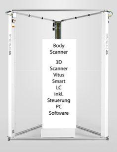 3D Scanner Vitronic Vitus LC 3 Bodyscanner - Ebay Anzeige