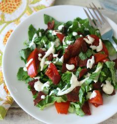 BLT Salad - Old WW and PointsPlus: 6 pts