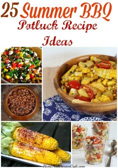 25 Summer BBQ Potluck Recipe Ideas