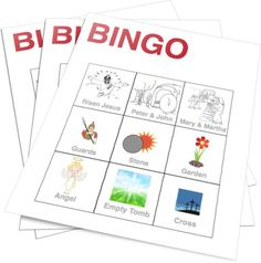 Free Printable Easter Bingo Game for Kids