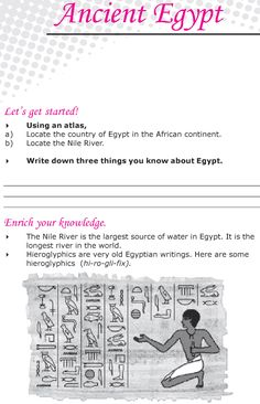 Grade 6 Reading Lesson 21 Nonfiction - Ancient Egypt