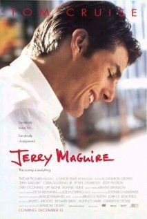 I love Cameron Crowe films and this is probably my favorite one. I could strangely relate to Jerry Maguire too well in this pic. Inspired my novel SKY BLUE.