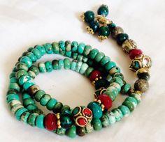 Turkish Islamic 99 Prayer Beads Tesbih Tasbih by kaysoothingbeads, $45.00 Beaded Necklace, Beaded Bracelets, Necklaces, Prayer Beads, Turquoise Bracelet, Tassels, Jewelery, Prayers, Boho
