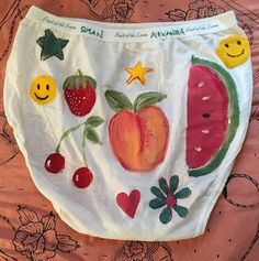 First go at project  granny panty  DM me for custom painted tush adornment  #tushytuesday
