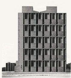 St.Louis hotel, L. Kahn, 1946