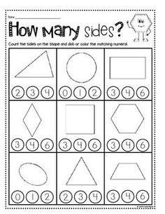 print and go shapes and geometry no prep kindergarten math centersmath worksheetsmath - Kindergarten Worksheets To Print