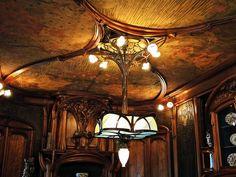 Salle à manger Masson Réalisé en collaboration avec Victor Prouvé 1903-1906