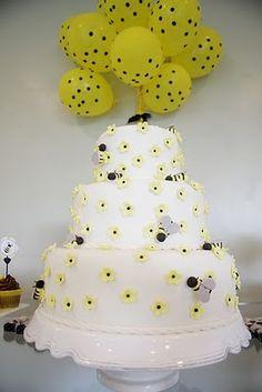 Shower Inspiration: Bumble Bees :  wedding bridal shower newport Bella004