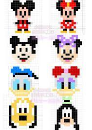 Mickey mouse and friends pixel art Hama Beads Design, Diy Perler Beads, Hama Beads Patterns, Perler Bead Art, Beading Patterns, Cross Stitching, Cross Stitch Embroidery, Crochet Pixel, Pixel Crochet Blanket