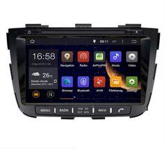 2DIN 8 INCH Android 1024*600 OCTA/Quad Core Fit KIA SORENTO 2013-2015 Car DVD Player Multimedia GPS Navigation GPS Radio DVD MAP #Affiliate