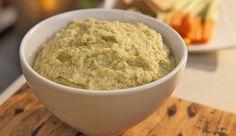 Zucchini and Chickpea Hummus - Good Chef Bad Chef