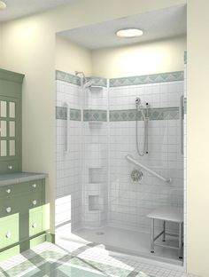 out before on projects is Best Bath of Caldwell, Idaho. Their accessible showers are not luxury but look nice and are comparable in price to standard shower units.    Read more »  Share and Enjoy     4 0share0share4    Posted in Architecture+Design, Bathroom, Residential, Stylish Products    Tagged ada compliant, Barrier Free, Best Bath, disabilities, handicapped, inclusive design, roll in shower, universal design, wheelchair accessible bathroom  Cebien Shower Systems  Posted on May 15…