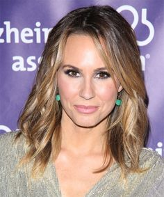 Keltie Colleen Hairstyle - Casual Medium Wavy Hairstyle. Click on the image to try on this hairstyle and view styling steps!