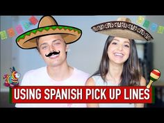 LEARNING SPANISH PICK UP LINES w/CaELiKe