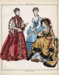 Casey Fashion Plates Detail   Los Angeles Public Library La Mode Illustree Date:  Saturday, January 1, 1870