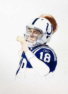 Peyton Manning...This would make one heck of a tattoo.