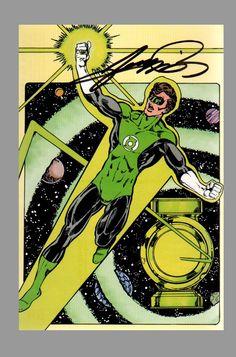 Green Lantern (Hal Jordan) by George Perez