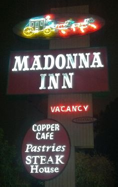 Madonna Inn, San Luis Obispo, CA. My grandparents took me when I was younger. It's like going back in time to the 50's