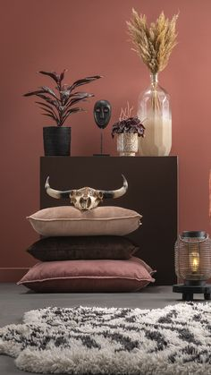 Living Room Decor, Pink, Ideas, Home Decor, Style, Drawing Room Decoration, Swag, Decoration Home, Den Decor