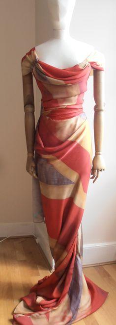 Vivienne Westwood's ball tie dress