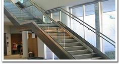 Amazing Gorgeous And Beautiful Glass Stair Design Ideas With Glass Stair and Hand Rails Design