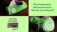 "portapenne all'uncinetto tutorial ""back to school"" (parte 1)"