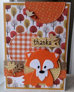 scrapcard girls Marianne Design, Marianne Vos, Die Cut Cards, Thanksgiving Cards, Fall Cards, Punch Art, Fall Halloween, Making Ideas, Thank You Cards