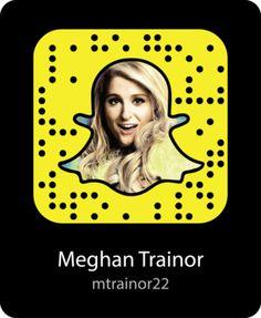 meghan-trainor-celebrity-snapchat-snapcode