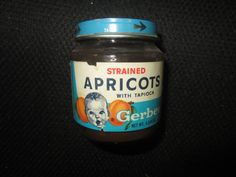 Gerber Baby Food Jars: my grandfather had a ton of these up on shelves in the garage filled with nails, nuts, and bolts. Baby Jars, Baby Food Jars, Food Baby, Nike Christmas Gifts, Christmas Presents, Sweet Memories, Childhood Memories, Childhood Toys, Baptism Cookies