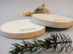 Drewniane podstawki pod kubek z Chwytaj Dzień - WoodPlanet - Dekoracje