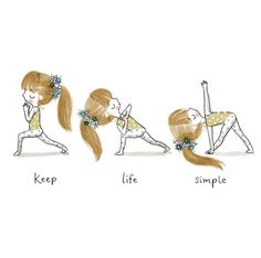 A fun way to put in yoga in your way of life as a beginner yoga practitioner is to begin past the easy stances. is a great way to start your yoga practice Yoga Art, My Yoga, Yoga Meditation, Children's Book Illustration, Illustrations, Simple Illustration, Yoga Jobs, Slim Yoga, Chico Yoga