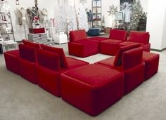 Convertible Ottoman Seating Group   Visual Merchandising and Store Design - other - aB Design