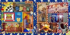 Toy Story Mania idea  for layout by belinda