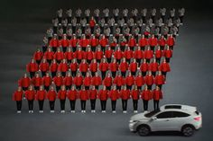Japanese 'Precision Walking' Inspires a Colorful Honda Spot - Video - Creativity Online