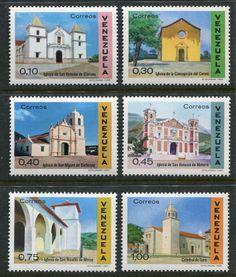 VENEZUELA - ARQUITECTURA COLONIAL - C613-8 MNH | VENEXILE NETWORKS