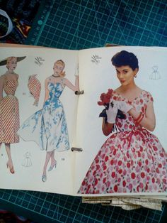 This item is unavailable Vintage Sewing Patterns, Pattern Making, Scissors, 1950s, My Etsy Shop, Trending Outfits, Unique Jewelry, Handmade Gifts, Check