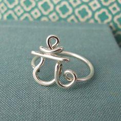 Heart Chakra Ring by Laladesignstudio on Etsy.
