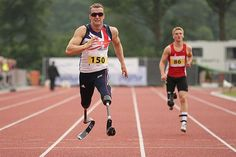 World Record holder Richard Whitehead smashed his global best by over half a second with an impressive time of to win gold on the penultimate day of the IPC Athletics European Championships in Stadskanaal, Holland June). Team Gb 2012, Record Holder, European Championships, World Records, Olympics, Athlete, Running, Sports, Hs Sports