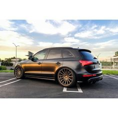 audi sq5 Audi A8, Audi Quattro, Black Audi, Good Looking Cars, Rims For Cars, Cars And Coffee, Luxury Suv, Sweet Cars, My Ride