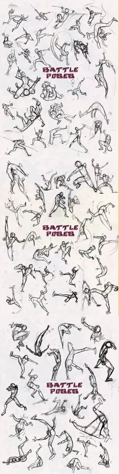 Battle poses this is awesome