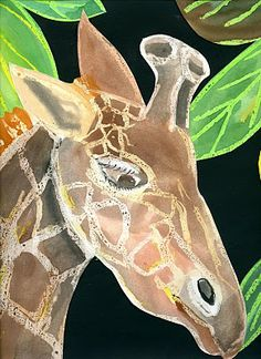 "that artist woman: ""The Giraffe Project."" July The Giraffe Project was completed in 440 days and is no more - but the love of giraffes lives on! African Art Projects, Animal Art Projects, 6th Grade Art, Giraffe Art, Ecole Art, Africa Art, School Art Projects, Art Lessons Elementary, African Animals"