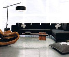 8' round Winter White flokati shag rug. Flokati Rugs, Shag Rugs, Round Shag Rug, Winter White, Couch, Living Room, Furniture, Design, Home Decor